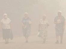 Wildfires are erupting in large numbers in Sarov