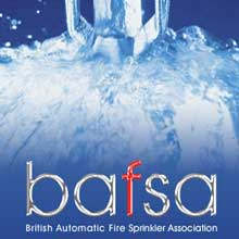 BAFSA is UK's trade association of fire sprinkler industry