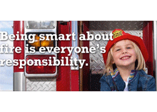 Be smart about fire safety