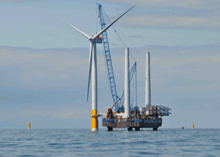 SSE is developing the wind farm in a joint venture with RWE npower renewables.