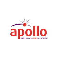 Apollo Fire Solution logo, the company held a stand at Firex 2011 where they showcased their extensive smoke detector range