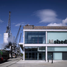 M Shed in Bristol, a new museum that has selected Apollo fire detectors as its fire protection system
