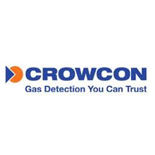 Crowcon Gas Detection logo, the company's gas detector was used by BBC to warn them of dangerous levels of hydrogen sulphide