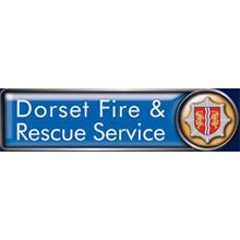 Dorset Fire & Rescue Service logo, the service has assessed Dorsst households for fire risk