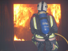 Draeger's breathing appartus will be now be used by Cornwall firefighters