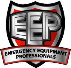 Emergency Equipment Professionals logo, the company will now aid in meeting the sales, service and support needs of first fire & emergency responders