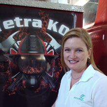 Executive for Minnesota Region, ex-fire fighter JoAnn Tyler