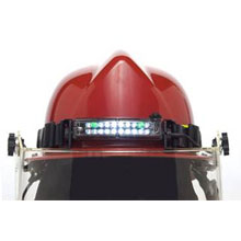 Foxfury headlamp, caters to the Fire-Rescue-EMS, Industrial Safety and Recreational markets