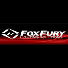 Foxfury Lighting Solutions logo, the company specialise in lighting solutions to aide firefighters and rescue services