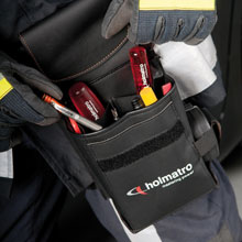 Holmatro's new Rescue Support Bag, the bag is designed as a reliable hold-all for rescue assist tools