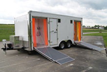 Mobile Concepts by Scotty help to protect fire and emergency first responders from hazardous contamination and its spread