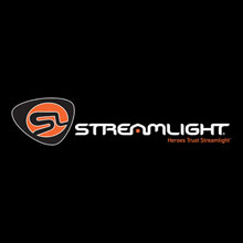 Streamlight logo, the company specialise in high-performance flashlights for fire fighters