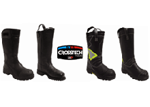 dual-certified Crosstech footwear