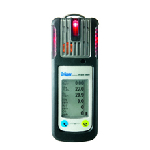 An ergonomically designed new draeger X-am 5600 gas detector by Drager