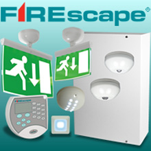 FIREscape requires less than five per cent of the lamp changes needed with traditional lighting