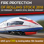 Fire protection in Rolling Stock Conference 2018