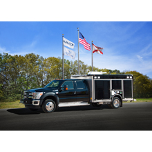 Oshkosh Corporation Light Rescue vehicle, the vehicle is engineered to support a wide range of emergencies