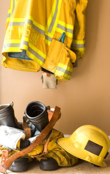 Protective fire equipment