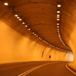 Fire safety in road or rail tunnels is of paramount importance in avoiding potential loss of life