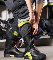 The safest and the fastest fitted firefighter boot that has ever been made