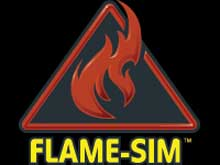 FLAME-SIM is a comprehensive simulation software providing training to fire service industry professionals
