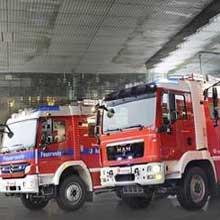 Rosenbauer provides fire fighting vehicles to German fire departments