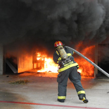 TetraKO technology is biodegradable and non-toxic, and has proven to be far superior to water and Class-A foam in firefighting