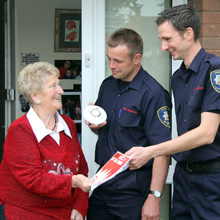 Fire safety officers will visit council house tenants aged over 75 in the Bridgnorth area to give advice about how to reduce the risk of fire