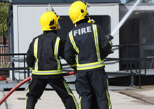 London firefighters are warning of industrial action