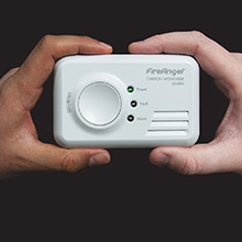CO-9X-10T-FF carbon monoxide alarm joins the existing range of 7-year CO products in the FireAngel range