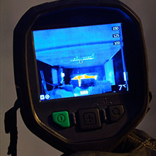 FLIR K50 has several different imaging modes that help speed up tactical decisions and the search for survivors