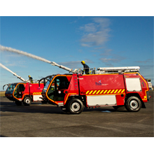 The HIAL airport fire service is one of the biggest in the UK, serving 11 airports across Scotland