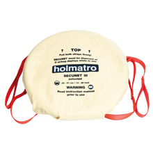 Made of an aramid reinforced fabric the Holmatro Secunet III is not only strong, but also flexible for smooth installation
