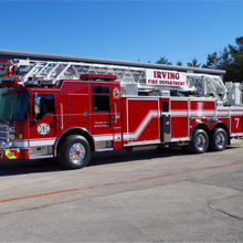 Pierce has sold the innovative Dash CF chassis to six fire departments within the Dallas-Fort Worth Metroplex within the past 18 months
