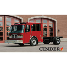 Ferrara Cinder is NFPA compliant with 65,979 pound vertical load test