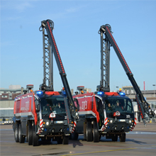 Volvo engine provides better acceleration values which makes Rosenbauer's PANTHER the world's most powerful ARFF