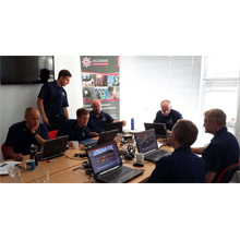 The Devon & Somerset Fire and Rescue Service are using the UK version of the RescueSim Simulator