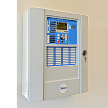 Chubb's Controlmaster ZP2 analogue addressable fire alarm control panel detects variations in sensor environments