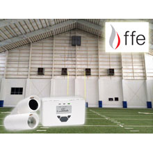 FFE's optical beam detectors enable extensive coverage at minimal cost and are ideal for applications where the line of sight for the IR detection path is narrow