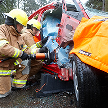 Holmatro 5000 series offers every spreading capability firefighters need for the extrication of a trapped victim