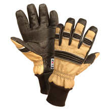 FX-1 MAX offers the firefighter an ideal replacement to leather gloves also avoid stretching associated with leather as well as the danger of rapid shrinkage in high heat