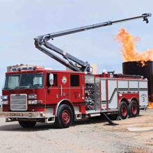 Pierce Arrow XT, matched with exclusive Snozzle HRET, is a powerful and proven combination, providing excellent reach and firefighting power