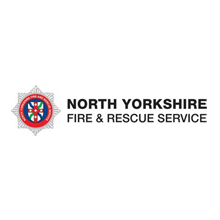 Group Manager Peter Hudson, from North Yorkshire Fire and Rescue Service explains about fire safety