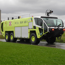 The Oshkosh Striker deliveries, to airports throughout Mexico, were completed in November 2015