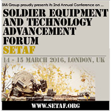 SETAF's speaker line-up includes key decision makers from the military and industry sector
