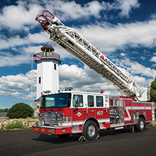 The Ascendant aerial passed all NFPA structural and stability testing requirements prior to its launch
