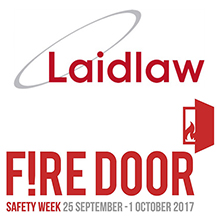 Laidlaw endorses Fire Door Safety Week this September, raising awareness of the critical role of the fire door
