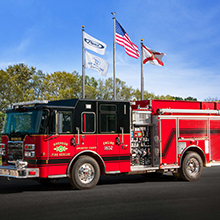 Purchase includes custom pumpers, pumper/tankers, rescues, and tanker vehicles