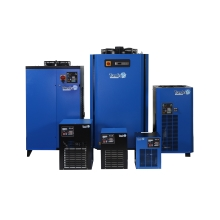 Tundra dryers are built with Scroll refrigerant Freon compressors, which offer the lowest possible power consumption