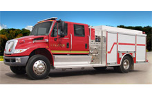 A model from Crimson Fire's new Legend series, launched today at FDIC in Indianapolis